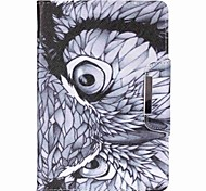 Owl Patterns Pattern PU Tablet Case for iPad (2017) Pro10.5 Pro9.7 iPad Air Air2 iPad234 mini 123 mini4