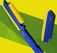 Grooming Brush Pet Grooming Supplies Portable Silicone / Plastic Blue / Yellow