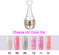 1PCS Cheese Gel Nail Polish UV Gel 24 Colors 12ml Gel Long Lasting Nail Polish 7-12