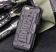 Armor Hybrid Case Military 3 in 1 Combo Cover For iPhone 6/6S