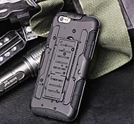 armatura ibrido caso militare 3 in 1 copertura combinata per il iphone 6 / 6s