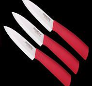 """klassische Kochmesser fünf 5 """"keramisches Messer (3 Stück) 3 das Taschenbuch"""