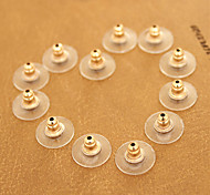 (20PC/BAG)Gold Earring Earnuts Earplug DIY Jewelry Accessories Part (20PC/BAG)