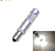 BAX9S H6W CREE XP-E LED 25W 1600-1800LM 6500-7500K AC/DC12V-24 Indicator Lights Turn White - Silver Transparent