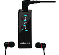 Jabees Bluetooth V4.1 Music Receiver Stereo Headphones with 3.5mm In-Ear Audio Headsets for Smartphone