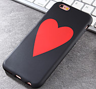 Super Popular Brands High-Grade Hearts TPU Soft Phone Case for iPhone 6/6S
