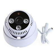 Cctv 1200tvl Hd Sony Cmos 3pcs Array Ir-cut 3.6mm Wide Angle Indoor Dome Security Camera Surveillance Camera