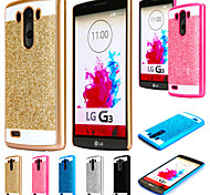 Shinning Case Glitter Cell Phone Back S Line Cover For LG G3/G4 (Assorted Colors)