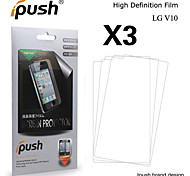 Ipush High Transparency HD LCD Screen Protector for LG V10(3 Pieces)