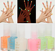 1pcs 7ml Luminous Nail Polish Fluorescent Light Glow in Dark Nail Varnish