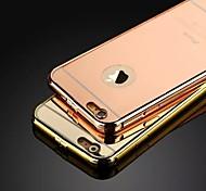 das neue Luxus-Dornschließe aus Edelstahl Metallrahmen Backplane-Telefonkasten für iphone 5 / 5s (verschiedene Farben)