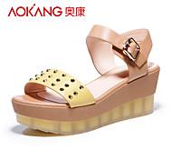Aokang Women's Wedge Heel Sandals