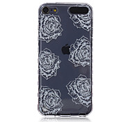 LOGROTATE®Anti-skidding Design Big Flowers Pattern TPU Soft Case for iPod Touch 5/6