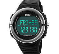 Skmei® Men's Heart Rate Monitor Sports Multifunction Watch 50m Waterproof Assorted Colors Wrist Watch Cool Watch Unique Watch Fashion Watch