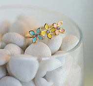 Fashion New Style Crystals Multicolor Daisy Shape Ring