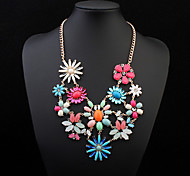 European Style Fashion Sunflowers Necklace