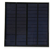 3W 12V Lightweight Polycrystalline Silicon Solar Cell for DIY Charger