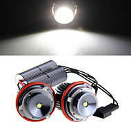 2 *H8 10W LED CREE Angel Eye Light White for BMW E39 E53 E65 E66 E60 E61 E63