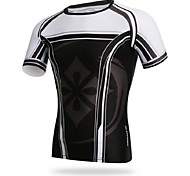 Men's Cycling Tops Short Sleeve Bike Spring / Summer / Autumn Breathable / Ultraviolet Resistant / Sweat-wicking