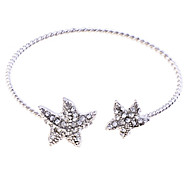 Korean Crystals Starfish Charm Bracelet
