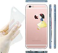 для iphone 7 maycari®kissing на яблоко мягкой прозрачной Вернуться ТПУ чехол для iPhone5 / iphone 5s