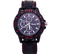 Men's Fashion Watch New Fashion Silicone Quartz Watch Movement Cool Watch Unique Watch
