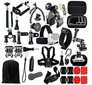 Accessori GoProMontaggio / custodia protettiva / Monopiede / Treppiedi / Con bretelle / Sacchetti / Vite / Boje / Sog / Accessori Kit /
