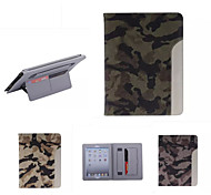 Ultrathin Camouflage Style Leather Case Fashion Cool With Belt Card Holder Case for ipad air /ipad 5