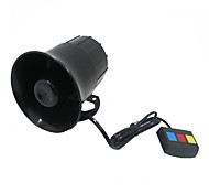 Three-Tone horn Super Loud Alarm Siren 12V Electric Scooter Modified Multi-Tone Siren Horn