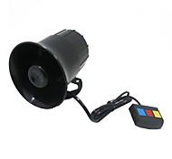 três tons chifre super alto alarme sirene scooter elétrico 12v modificado multi-tom de sirene buzina