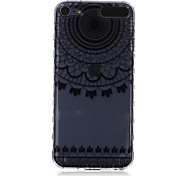 LOGROTATE®Anti-skidding Design Lace Pattern TPU Soft Case for iPod Touch 5/6