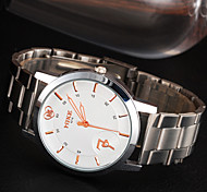 Men's Watch Fashion Cute Heart-Shaped And Steel Table Personality Top-Grade Waterproof Watch