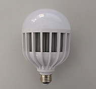 1 pcs LERHOME E26/E27 24W 48SMD 5730 2800 LM Cool White  Cage Type  Decorative Globe Bulbs 220 V