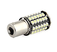 2 x 1156 BA15S 80 LED 3528 SMD White Car Tail Parking Stop Light Bulb Lamp