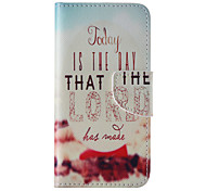 The New Letter PU Leather Material Flip Card Cell Phone Case for iPhone 6 /6S