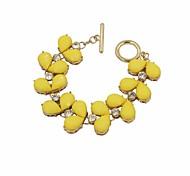 Fashion Wmen Resin Stone Set Bracelet