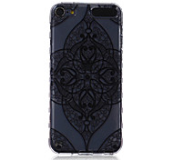 LOGROTATE®Anti-skidding Design Big Diamond Flower Pattern TPU Soft Case for iPod Touch 5/6