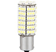 2*Car 1156 Tail Brake White 120 SMD LED Light Bulb Lamp