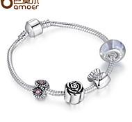 Popular jewelry fashion DIY925 beaded bracelet
