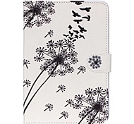 Dandelion Folio Leather Stand Cover Case With Stand for iPad Mini 3/2/1