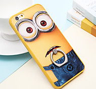 Yellow People Ring Buckle Cases for iPhone6/iPhone 6s