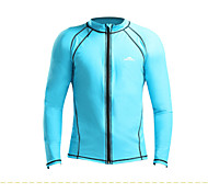 Sbart Outdoor Beach Swimming Warm Long Sleeve Rashguard Swimming Tops Multi-Colors S-XXL