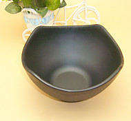 Japanese Type Best Quality Grind Arenaceous Black  Melamine Plate Safe Fruit Dishes