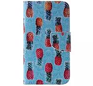 ananas modèle en cuir de téléphone pour Samsung Galaxy J5