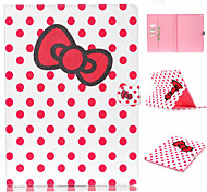 Bow Pattern Flip the Card Holder Protection Case for iPad Pro