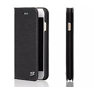 зубочистки зерна высшего сорта подлинной корова кожаный бумажник стоять случай для iPhone 6s