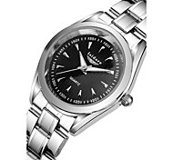Women's Fashion Watch Quartz Water Resistant / Water Proof Stainless Steel Band Silver