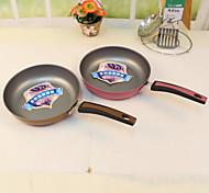 Titanium Double-Color Frying Pan Pan Fried Egg Pancake Pan Pan Cast Iron Pan In The Kitchen(Random Color)