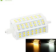 R7S 118mm 42 x 5060SMD 10W Warm White / Cool White 1000LM 220°Beam Horizontal Plug Lights Dimmable Flood Light AC85-265V