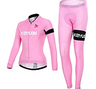 KEIYUEM Cycling Clothing Sets/Suits / Tights Women's BikeWaterproof / Breathable / Insulated / Quick Dry / Rain-Proof / Dust Proof /